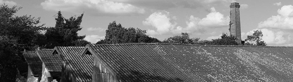奈良伝統の蚊帳生地やふすま地の織物製造上島織布工場概観